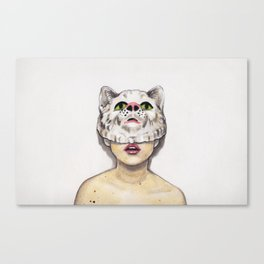 Masked Avenger Canvas Print