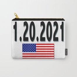 1.20.2021 The day Joe Biden becomes President Carry-All Pouch
