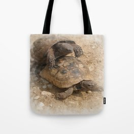 Slow Love - Tortoises Tote Bag