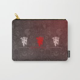 logo pattern of united Carry-All Pouch