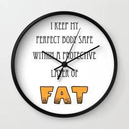 Layer of FAT Wall Clock