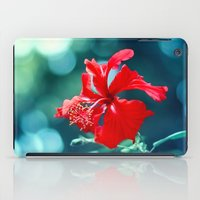 hibiscus iPad Cases featuring Hibiscus by Arefin