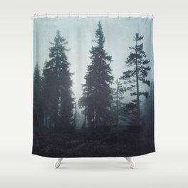 Leave In Silence Shower Curtain