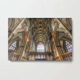 York Minster Metal Print