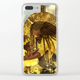 My Light, My Sunflower 2 Clear iPhone Case