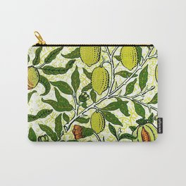 William Morris Exotic Fruit, Lemons and Pomegranates Carry-All Pouch