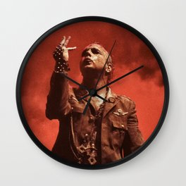 Mayhem #OnStagePortrait Wall Clock