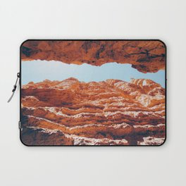 Orange and Brown Layers Laptop Sleeve