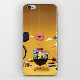 One iPhone Skin