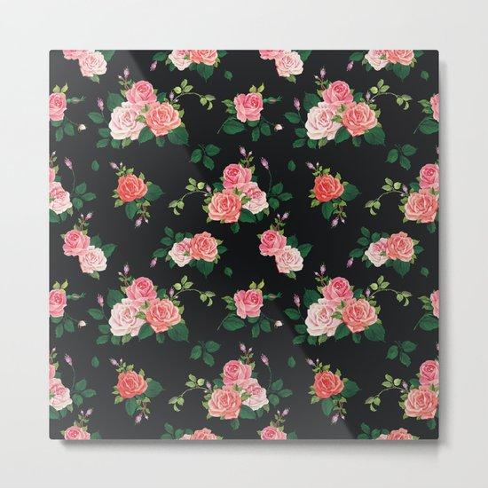 flowers pattern Metal Print