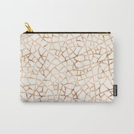 Crackle Gold Foil Carry-All Pouch