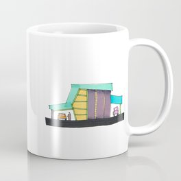 Retro Auto Shop Illustration 101 Coffee Mug