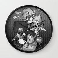 sailormoon Wall Clocks featuring SU SailorMoon by Ravenno