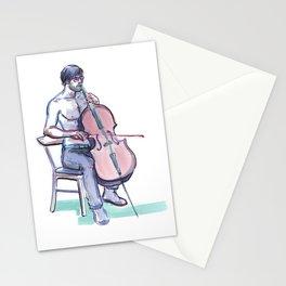 JOSHUA MCCLAIN, Semi-Nude Male by Frank-Joseph Stationery Cards