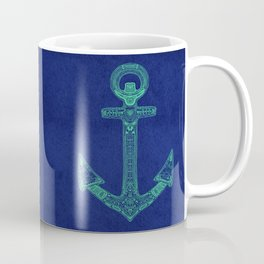 Anchor; ornate anchor Coffee Mug