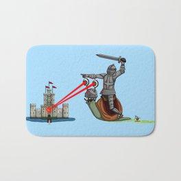 The Knight and the Snail - Random edition Bath Mat