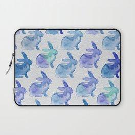 Watercolor Bunnies 1J by Kathy Morton Stanion Laptop Sleeve