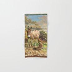 Donkey Love Hand & Bath Towel