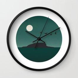 """""""Terra Nova"""" said the lieutenant John Gaudy Wall Clock"""