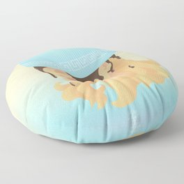 Greek God Coffee Floor Pillow