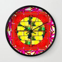 Framed 6 Wall Clock