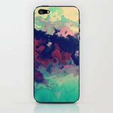 Watercolor marble iPhone & iPod Skin
