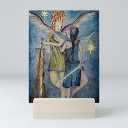 Set the Heavens Aflame Mini Art Print