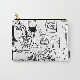 Alcohol Doodles Carry-All Pouch
