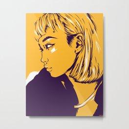 F. W. 06 Metal Print