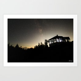 Winchester Fire Lookout Art Print