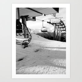 Scenic route equipment Art Print
