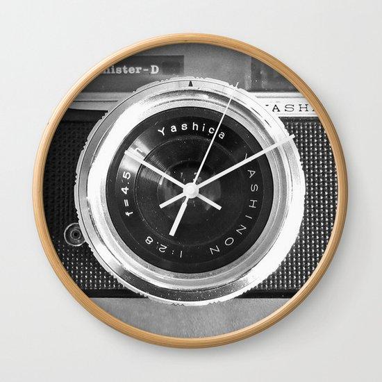 Camera Wall Clock