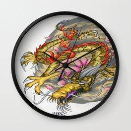 Warp Dragon Wall Clock