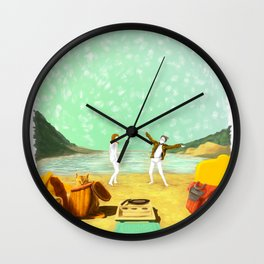 MOONRISE KINGDOM Painting #M41 Wall Clock