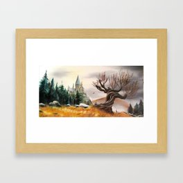 Autumnal magic... Framed Art Print