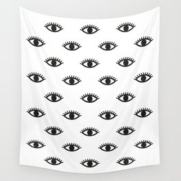 eyes Wall Tapestry