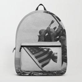 Iwo Jima Flag World War 2 Vintage Backpack