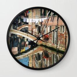 Upsidedown 2 Wall Clock