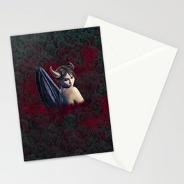 Maleficent Digital Painting Stationery Cards