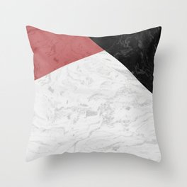 MARBLE SUPERIOR Throw Pillow
