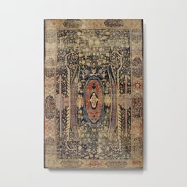 Ziegler Sultanabad West Persian Rug Print Metal Print
