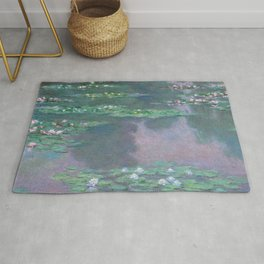 Water Lilies Monet 1905 Rug