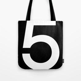 No. 5 — Black Tote Bag