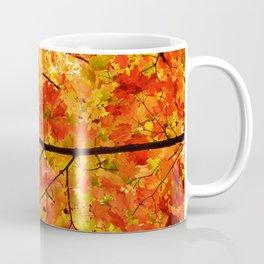 Sugar Maple Leaves in the Fall Light Coffee Mug