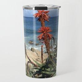 Sunny Monterey Bay Travel Mug