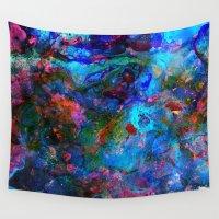 apollo Wall Tapestries featuring Apollo by Peta Herbert