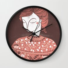 The Botanist Wall Clock