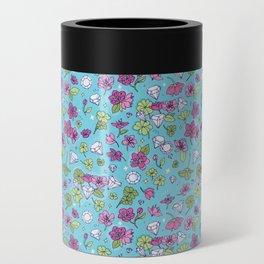 Flowers, Clovers & Diamonds Can Cooler