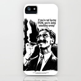GROUCHO iPhone Case