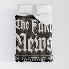 The Fake News Header Duvet Cover